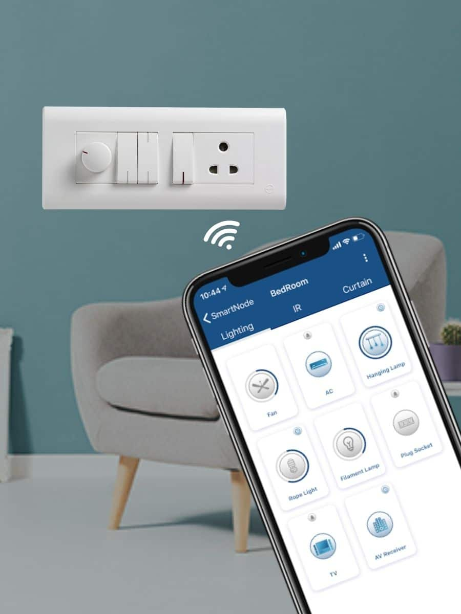 controlling traditional switches via mobile app