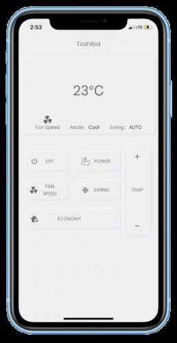 IR Blaster Remote Smart Node App Screen-min