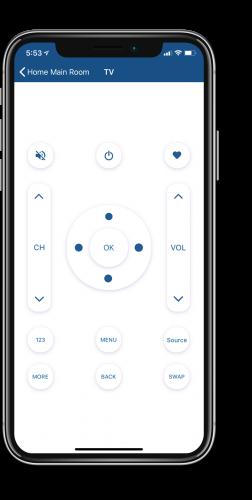 Smart Node app IR Blaster
