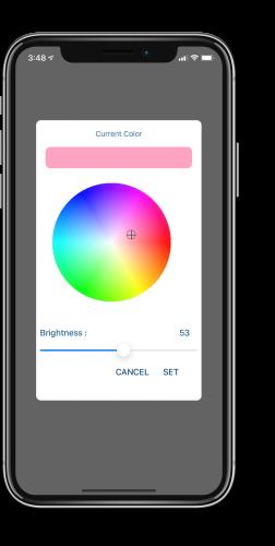 Smart Node app RGB controller